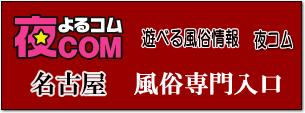 夜コム、名古屋風俗サイト入口