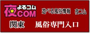 夜コム、関東風俗サイト入口